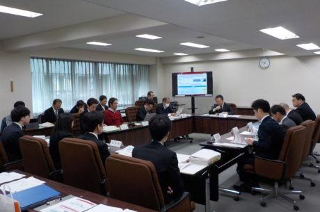 第2回仙台市近未来技術地域実装協議会の様子