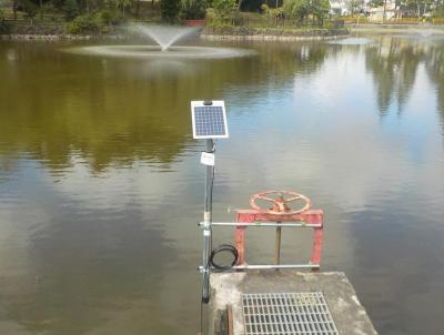 水位監視システム実証実験の様子1